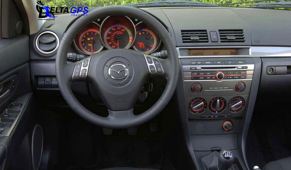 جی پی اس ردیاب خودرو مزدا 3