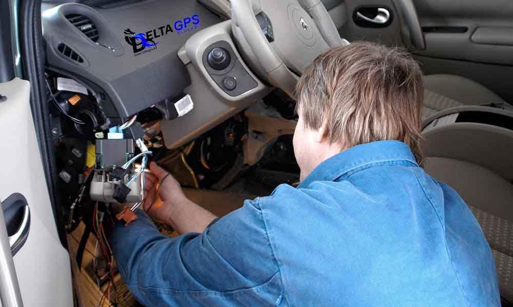 ردیاب خودرو بدون تداخل در گارانتی ماشین با نصب جی پی اس