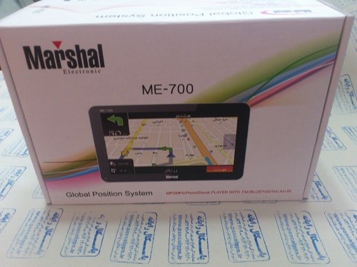 جی پی اس مسیریاب خودرو نقشه آپدیت جدید ME-700